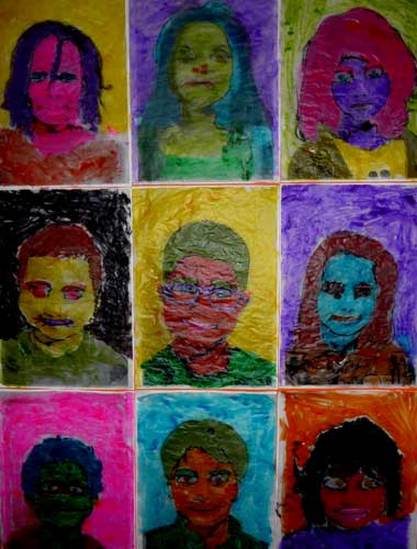 Peinture A La Maniere D Andy Warhol