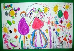 Dessins D Enfants Sur Le Theme Du Printemps