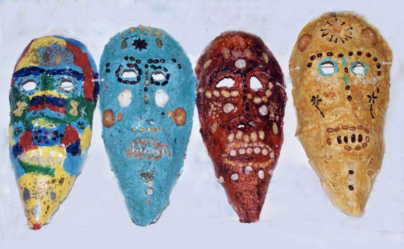 Carnaval masque africain fabriquer - Masque de carnaval a fabriquer ...