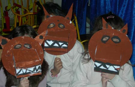 Fabriquer un masque de loup - Masque de loup a fabriquer ...