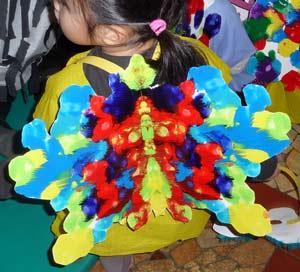 Costume de papillon l 39 cole maternelle - Papillon maternelle ...
