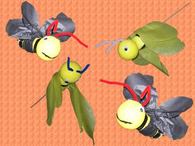 mobile abeille cole maternelle. Black Bedroom Furniture Sets. Home Design Ideas