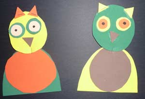 mobile de hibou en mousse cole maternelle. Black Bedroom Furniture Sets. Home Design Ideas