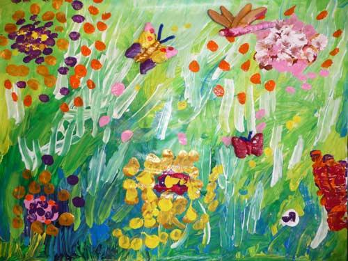 Fleur et papillon cole maternelle - Papillon maternelle ...