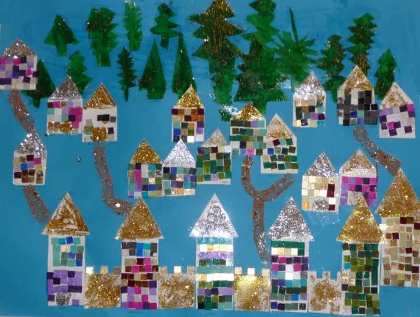 Maisons Noel Decorations