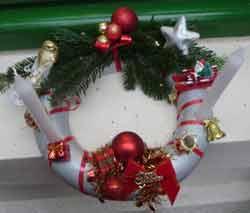 Noel bricolage fabrication objets - Fabrication de couronne de noel ...