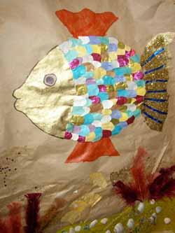 Poissons arts plastiques cole maternelle - Poisson en maternelle ...