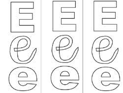 Coloriages Alphabet Lettres Ecole Maternelle