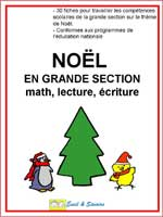 fichier sur Noël en grande section