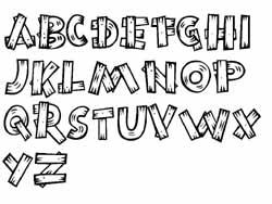 lettre special fiches alphabet abécédaires en maternelle lettre special