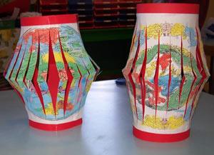lanterne chinoise 233 cole maternelle