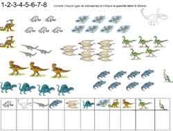 Dinosaure Maternelle Grande Moyenne Section