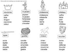 Lecture Maternelle Grande Section Mots