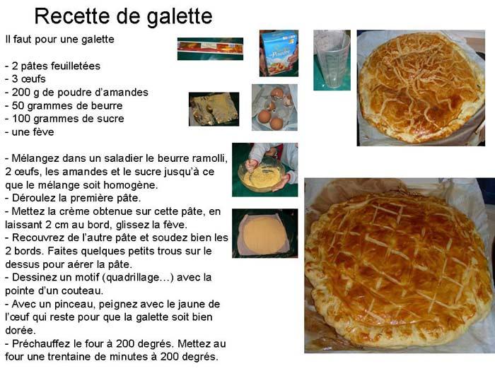 Recette de galette des rois - Recette facile galette des rois ...