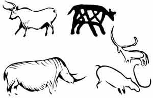 Pr histoire coloriage - Photo de bison a imprimer ...