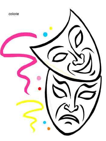 Coloriage ecole maternelle carnaval - Dessins carnaval ...
