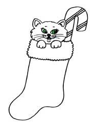 Coloriages de no l cole maternelle - Dessin chat botte ...