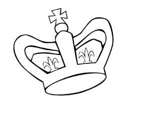 Coloriages rois reines couronnes galettes - Couronne a colorier et imprimer ...