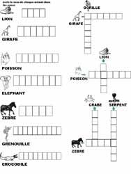 Fiches de lecture gratuites pour la maternelle jeux de - Grille mots croises michel laclos gratuites ...