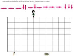 Fiche Math Maternelle Deplacement Dans Quadrillage